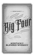 KENTUCKY BIG FOUR KENTUCKY BLENDED WHISKEY