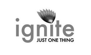 IGNITE JUST ONE THING