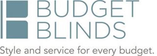 B BUDGET BLINDS STYLE AND SERVICE FOR EVERY BUDGET