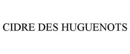 CIDRE DES HUGUENOTS