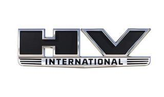 HV INTERNATIONAL