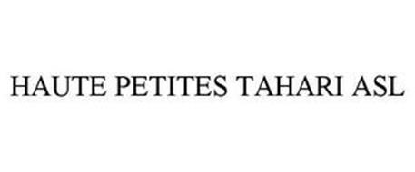 HAUTE PETITES TAHARI ASL