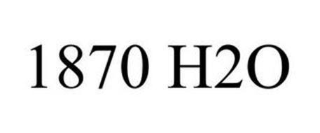 1870 H2O