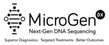 MICROGEN DX NEXT-GEN DNA SEQUENCING SUPERIOR DIAGNOSTICS. TARGETED TREATMENTS. BETTER OUTCOMES