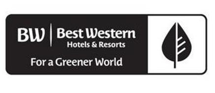 BW BEST WESTERN HOTELS & RESORTS FOR A GREENER WORLD