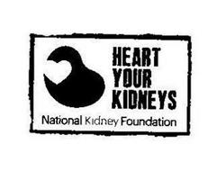 HEART YOUR KIDNEYS NATIONAL KIDNEY FOUNDATION