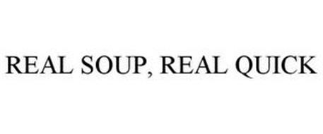 REAL SOUP, REAL QUICK