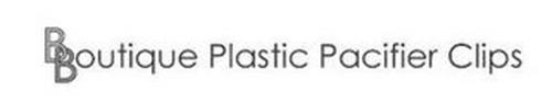 BBOUTIQUE PLASTIC PACIFIER CLIPS