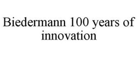 BIEDERMANN 100 YEARS OF INNOVATION