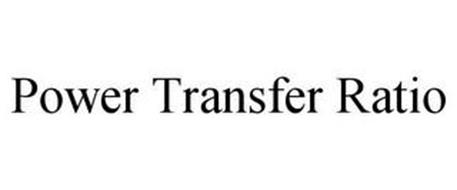 POWER TRANSFER RATIO