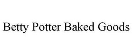 BETTY POTTER BAKED GOODS