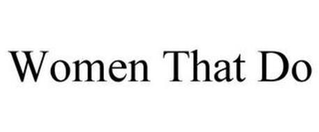 WOMEN THAT DO