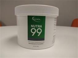 ISODIOL NUTRA 99 · 100% NATURAL, NUTRACEUTICAL GRADE BULK MATERIAL FOR FORMULATION NET WT. 250G