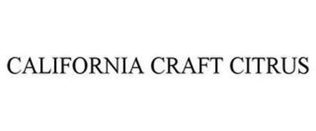 CALIFORNIA CRAFT CITRUS