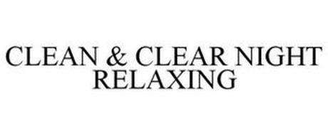 CLEAN & CLEAR NIGHT RELAXING