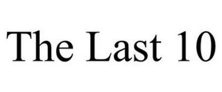 THE LAST 10