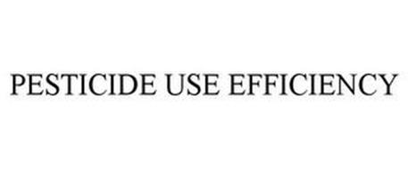 PESTICIDE USE EFFICIENCY