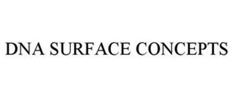 DNA SURFACE CONCEPTS