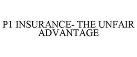 P1 INSURANCE- THE UNFAIR ADVANTAGE