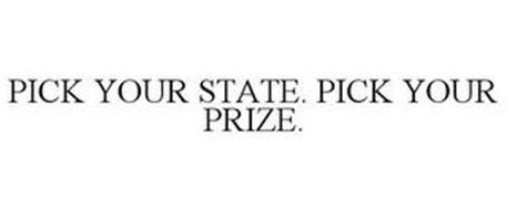 PICK YOUR STATE. PICK YOUR PRIZE.