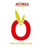 ACORSA O YOUR OLIVE BAR IN A JAR
