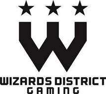 W WIZARDS DISTRICT GAMING