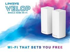 LINKSYS VELOP WHOLE HOME WI-FI WI-FI THAT SETS YOU FREE LINKSYS