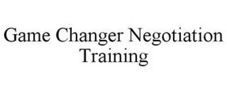 GAME CHANGER NEGOTIATION TRAINING