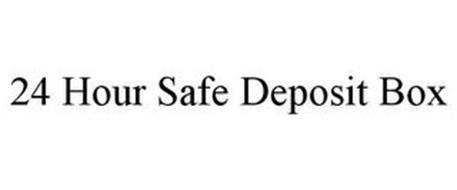 24 HOUR SAFE DEPOSIT BOX
