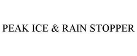 PEAK ICE & RAIN STOPPER