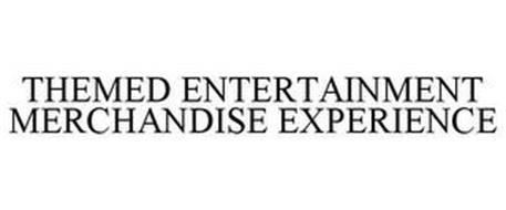THEMED ENTERTAINMENT MERCHANDISE EXPERIENCE