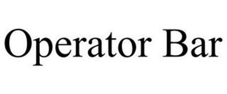 OPERATOR BAR