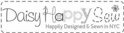 DAISY HAPPY SEW HAPPILY DESIGNED & SEWNIN NYC