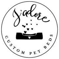 J'ADORE CUSTOM PET BEDS