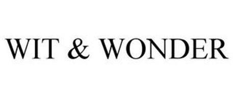 WIT & WONDER