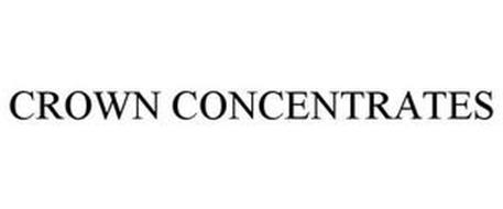 CROWN CONCENTRATES