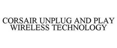 CORSAIR UNPLUG AND PLAY WIRELESS TECHNOLOGY