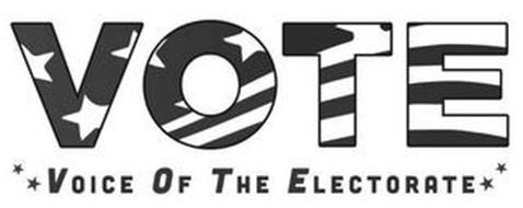 VOTE VOICE OF THE ELECTORATE