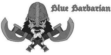 BLUE BARBARIAN