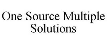 ONE SOURCE MULTIPLE SOLUTIONS