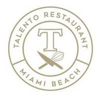 T TALENTO RESTAURANT MIAMI BEACH