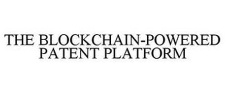 THE BLOCKCHAIN-POWERED PATENT PLATFORM