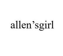 ALLEN'SGIRL