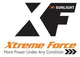SUNLIGHT XF XTREME FORCE MORE POWER UNDER ANY CONDITION