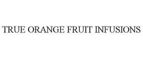 TRUE ORANGE FRUIT INFUSIONS