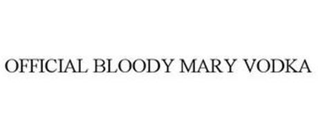 OFFICIAL BLOODY MARY VODKA