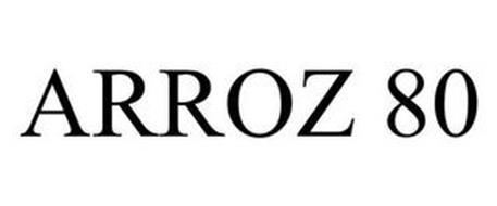 ARROZ 80