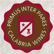 PRIMUS INTER PARES CALABRIA WINES