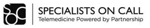 SOC SPECIALISTS ON CALL TELEMEDICINE POWERED BY PARTNERSHIP