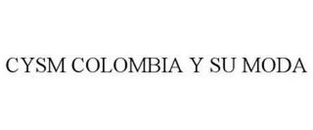 CYSM COLOMBIA Y SU MODA